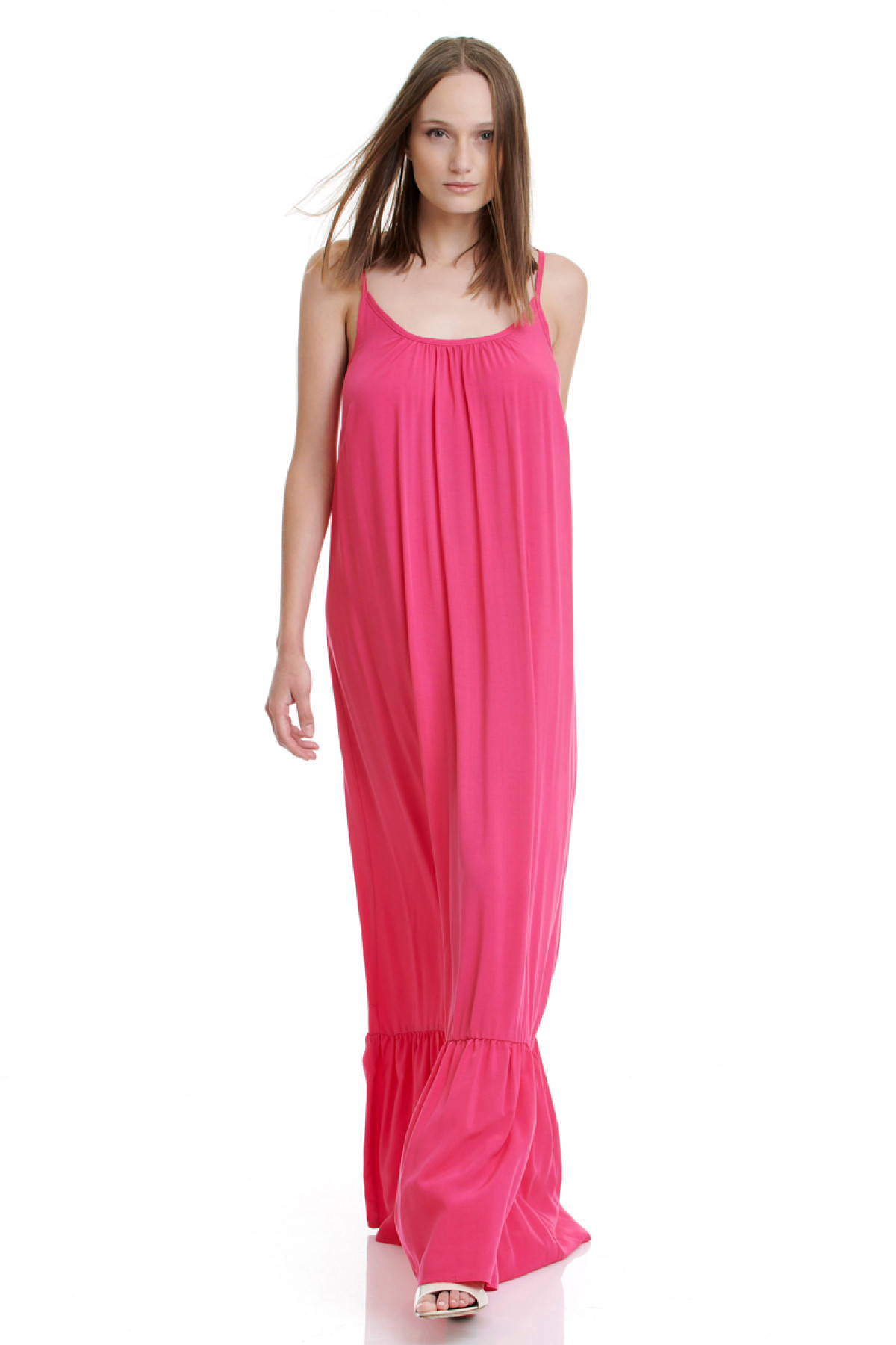 FUSCHIA LONG DRESS