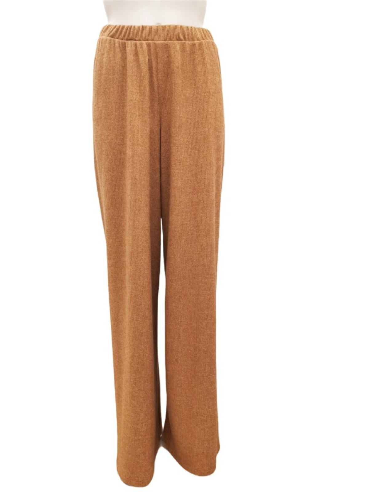 CARAMEL KNIT TROUSERS