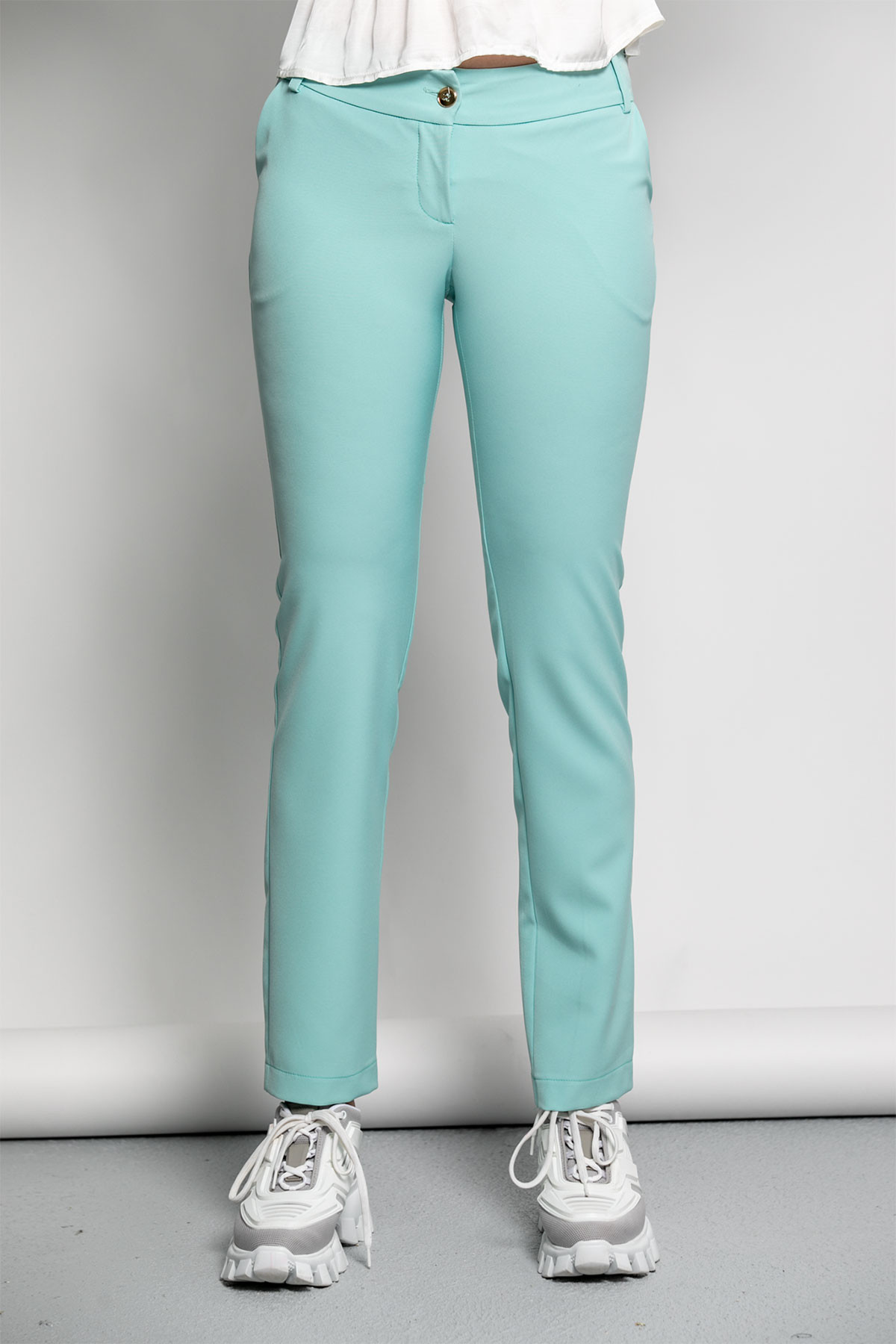 MINT CIGARETTE TROUSERS